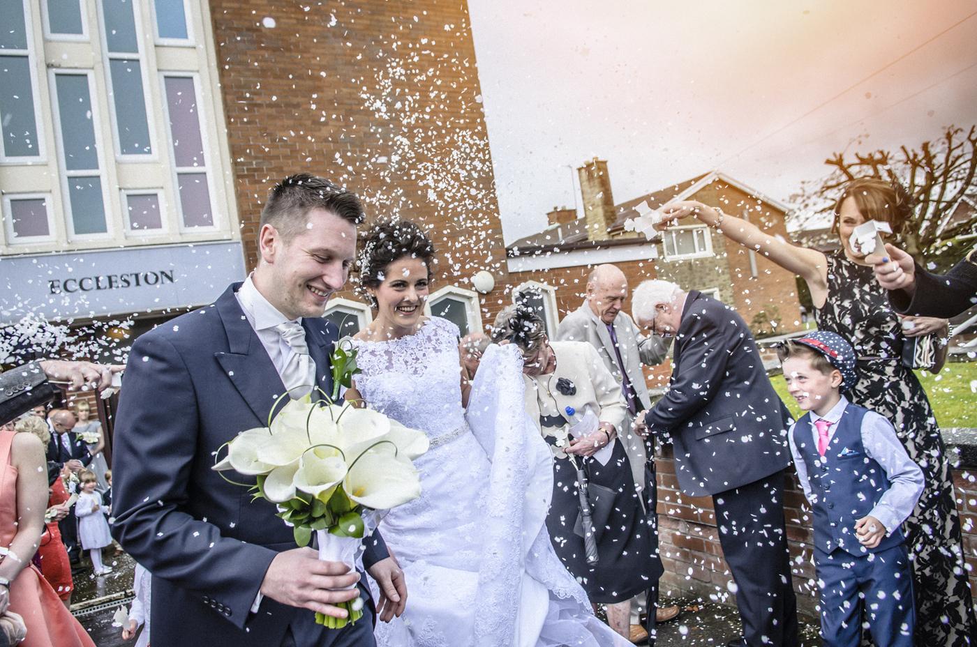 How I photograph weddings.