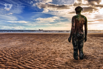 Crosby Beach - Liverpool