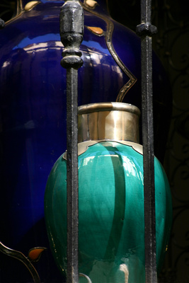 Granada Arabic jars
