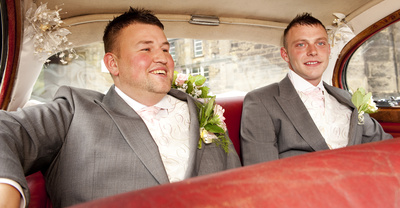 Groom & Best Man - Dudley Registry Office