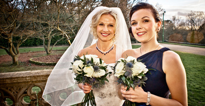 Hampton Manor - Bride & Daughter