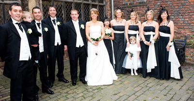 Tamworth Castle - The Bridal Party