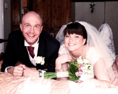 The bridal suite!