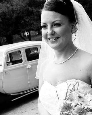 Bride at Dudley Registry Office