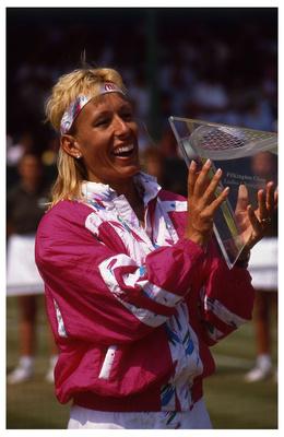 Martin Navratilova - Eastbourne Championship 1991