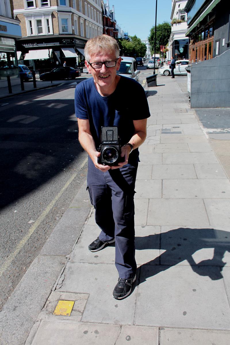 David Bruce in Bayswater