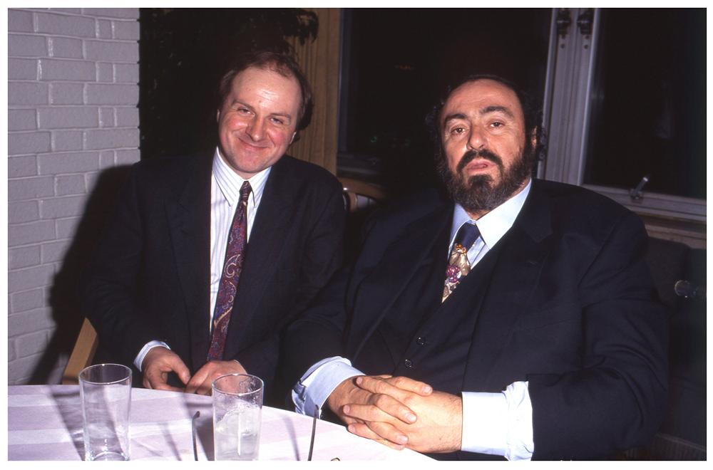 James Naughtie & Luciano Pavarotti - The Ritz, BBC Radio 3 1991