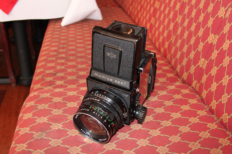 I am using this Mamiya RB 67 for the Bayswater project. It was made in 1972