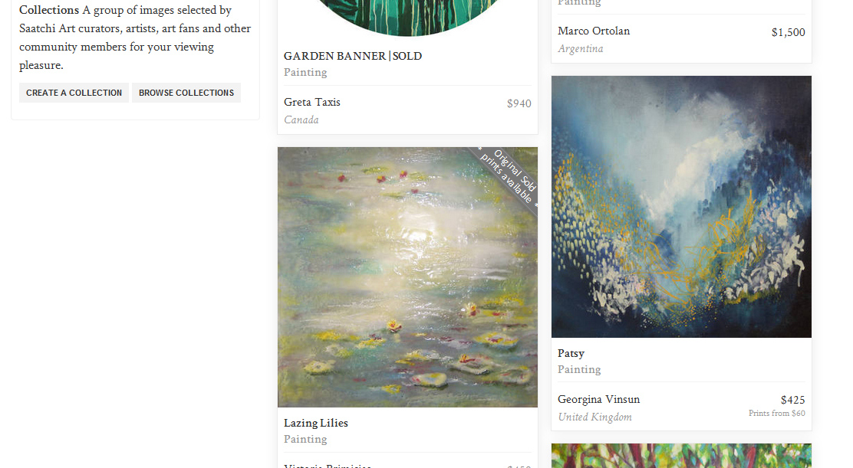 Saatchi Art Inspired by Monet