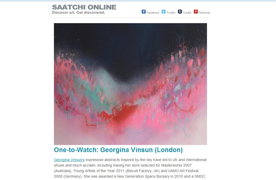 Saatchi Art Newsletter