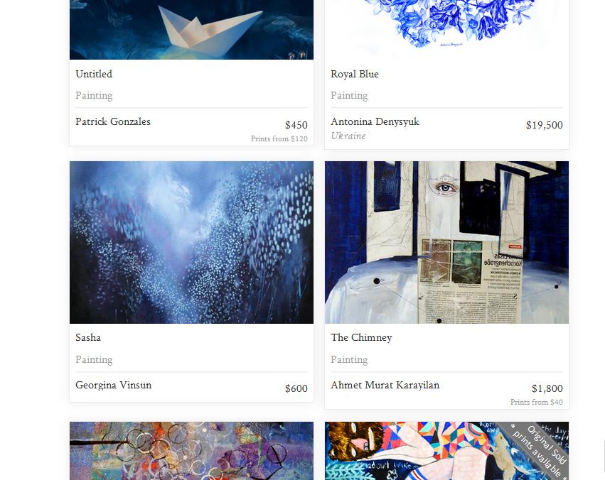 Saatchi Art Yves Klein Blue