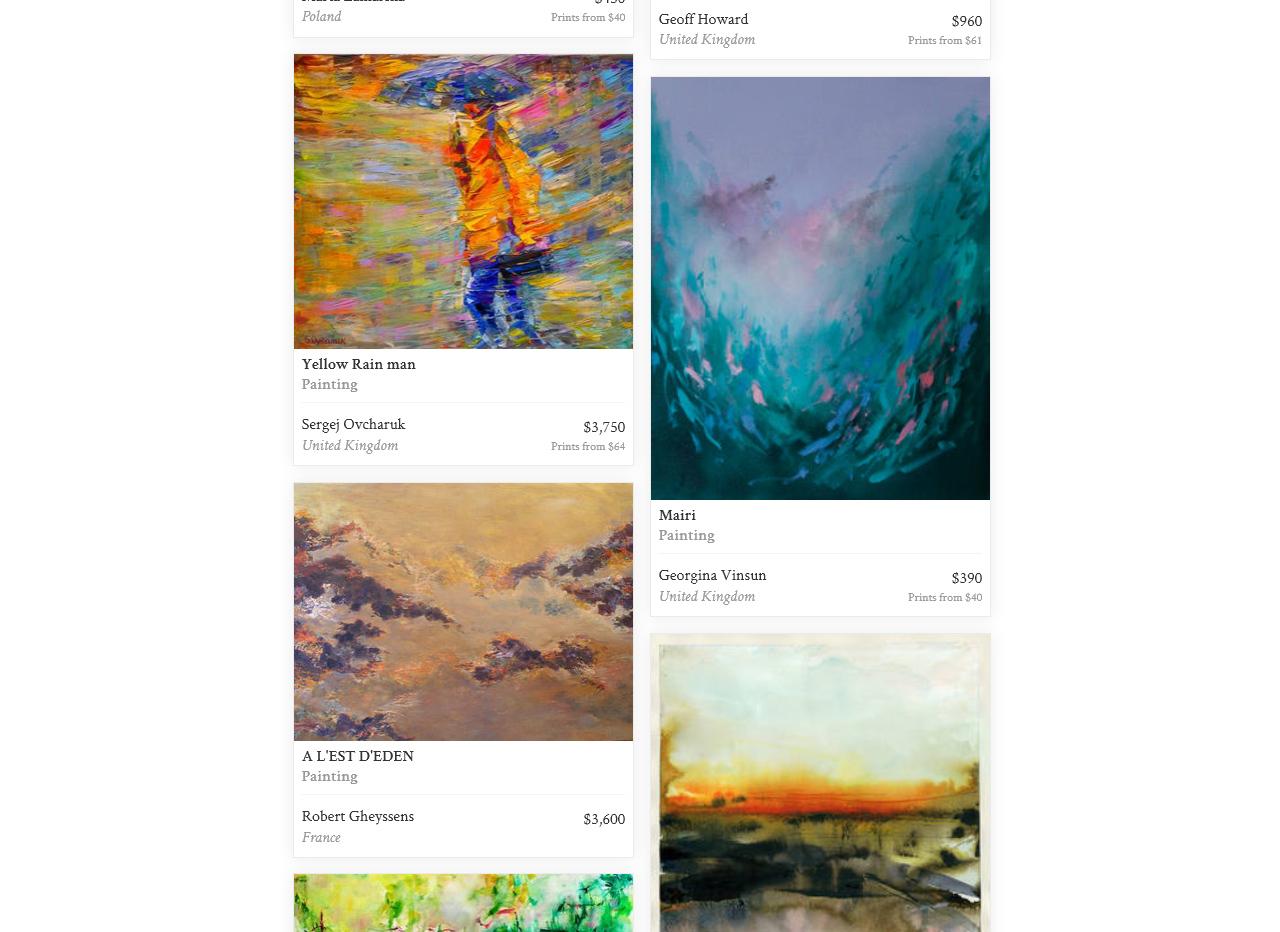 Saatchi Art Inspired by  Monet & Impressionism