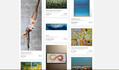 Saatchi Art - New This Week
